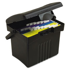 Storex File Box with Organizer