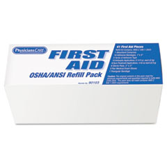 PhysiciansCare ANSI/OSHA First Aid Refill Pack