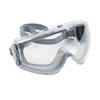 Uvex Stealth Antifog, Antiscratch, Antistatic Goggles, Clear Lens, Gray Frame