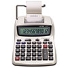 Victor 1208-2 Two-Color Compact Printing Calculator, Black/Red Print, 2.3 Lines/Sec