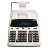 1230-4 Fluorescent Display Two-Color Printing Calculator, 12-Digit Fluorescent