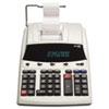 Victor 1230-4 Fluorescent Display Printing Calculator, Black/Red Print, 3 Lines/Sec