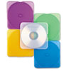 TRIMpak CD/DVD Case, Assorted Colors, 10/Pack