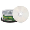 Verbatim DVD+RW Discs, 4.7GB, 4x, Spindle, 30/Pack