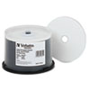 Verbatim Datalife Plus DVD-R Discs, 4.7GB, 8x, Spindle, White, 50/Pack
