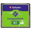 Verbatim CompactFlash Memory Card, Class 4, 4GB