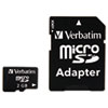 MicroSD Card w/Adapter, 2GB