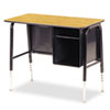 Jr. Executive Desk, 34w x 20d, Medium Oak