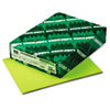 Astrobrights Colored Paper, 24lb, 8-1/2 x 11, Terra Green, 500 Sheets/Ream
