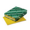 Astrobrights Colored Card Stock, 65 lbs., 8-1/2 x 11, Solar Yellow, 250 Sheets