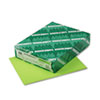 Astrobrights Colored Card Stock, 65 lbs., 8-1/2 x 11, Terra Green, 250 Sheets