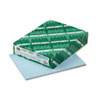 Exact Index Card Stock, 110 lbs., 8-1/2 x 11, Blue, 250 Sheets/Pack