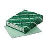 Exact Index Card Stock, 110 lbs., 8-1/2 x 11, Green, 250 Sheets/Pack