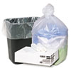 High Density Can Liners, 7-10 gal, 8 mic, 24 x 24, Natural, 1000/Carton