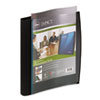 Wilson Jones Smart-View Multi-Ring Presentation Book, 12 Letter-Size Sleeves, Black/Blue