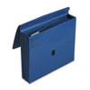 ColorLife 5 1/4 Inch Expansion File, Five Pockets, Letter, Dark Blue