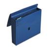 ColorLife 5 1/4 Inch Expansion File, Five Pockets, Letter, Dark Blue