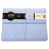 WorkStyle Cut and Sewn Filer, One Pocket, Two Inch Capacity, Letter, Blue