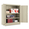 Quick-Assemble Cabinet, 36w x 18d x 42h, Putty