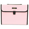 Seven-Pocket Expanding File, 5 1/4 Inch Expansion, Letter, Pink
