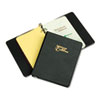 Looseleaf Phone/Address Book, 1&quot; Capacity, 5-1/2 x 8-1/2, Black Vinyl