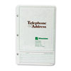 Wilson Jones Looseleaf Phone/Address Book Refill, 5-1/2 x 8-1/2, 80 Sheets/Pack