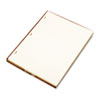 Wilson Jones Looseleaf Minute Book Ledger Sheets, Ivory Linen, 11 x 8-1/2, 100 Sheet/Box