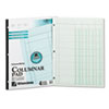 Wilson Jones Accounting Pad, Four Eight-Unit Columns, Two-sided, Letter, 50-Sheet Pad