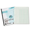 Accounting Pad, Six Six-Unit Columns, 8-1/2 x 11, 50-Sheet Pad