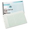 Wilson Jones Accounting Pad, 13 Eight-Unit Columns, 11 x 16 3/8, 50-Sheet Pad