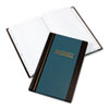 Wilson Jones Journal Book, Two-Column, Blue Hardcover, 150 Pages, 11 3/4 x 7 1/4