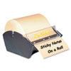 Manual Sticky Note Dispenser, 3 x 3, Dark Blue