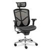 Alera EQ Series Ergonomic Multifunction High-Back Mesh Chair, Aluminum Base