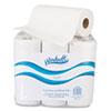 "Windsoft Paper Towel Roll, 11"" x 8 4/5"", White, 72/Roll, 6 Rolls/Pack"