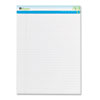 Universal One Sugarcane Based Writing Pads, Wide, 11-3/4 x 8-1/2, White, 2 50-Sheet Pads/Pack