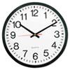 Universal Round Wall Clock, 12 5/8