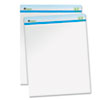 Universal One Sugarcane Based Easel Pads, Unruled, 27 x 34, White, 50 Sheets/Pad, 2 Pads/Pack