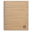 Universal One Sugarcane Based Notebook, College Rule, 11 x 8-1/2, White, 100 Sheets/Pad
