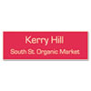 Customized Engraved Name Badge, 1 x 3, Assorted