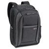 CheckFast Laptop Backpack, Ballistic Poly, 13 3/4 x 6 1/2 x 17 3/4, Black
