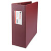"D-Ring Binder, 4"" Capacity, 8-1/2 x 11, Burgundy"