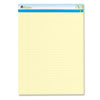 Universal One Sugarcane Based Writing Pads, Wide, 11-3/4 x 8-1/2, Canary, 2 50-Sheet Pads/Pk