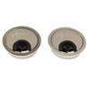 Alera VA503333 Valencia Series Optional Grommets, Silver Metal, Pack/2 ALEVA503333 ALE VA503333