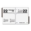 Recycled Compact Desk Calendar Refill, 3&quot; x 3 3/4&quot;, 2013