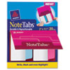 Avery NoteTabs-Notes, Tabs and Flags in One, Neon Blue/Magenta, Two Inch, 20/PK