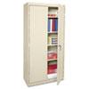 Economy Assembled Storage Cabinet, 36w x 18d x 72h, Putty