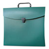 File N Go Portable File Box, Letter, Green