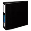 Avery Heavy-Duty Vinyl EZD Ring Reference Binder, Label Holder, 4