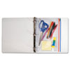 Angler's Zip-All Ring Binder Pocket - AVT ANG52