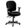 Alera Wrigley Series 24/7 High Performance Mid-Back Multifunction Chair, Black